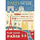 Cavallini Paris Guide Wrapping Paper
