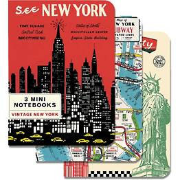 Vintage New York Journals