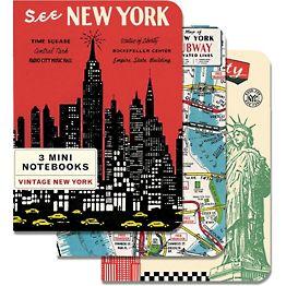 Vintage New York Journals