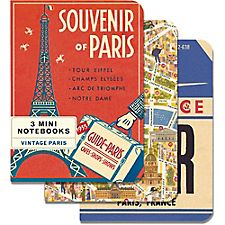 Cavallini Vintage Paris Journals