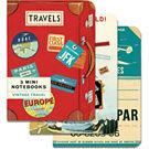 Cavallini Vintage Travel Journals