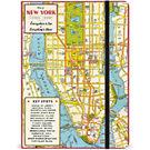 Cavallini New York City Map Journal