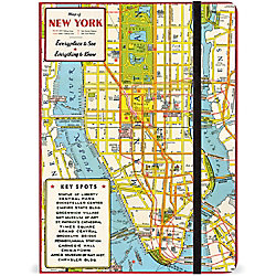 Cavallini New York City Map Journal