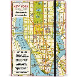 New York City Map Journal