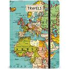 Cavallini Vintage Map Journal