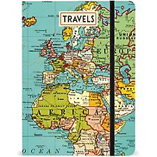 Cavallini Vintage Map Journal