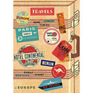 Cavallini Vintage Travel Wrapping Paper