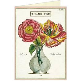 Fleur 2 Thank You Card