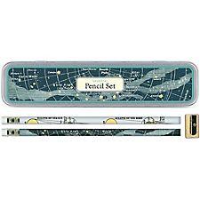 Cavallini Celestial Pencil Tin
