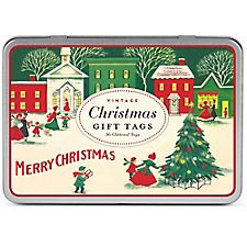 Vintage Christmas Gift Tags by Cavallini