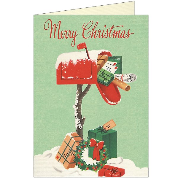 Christmas Mailbox Card Paper Source