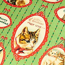 Christmas Cats 2016 Wrap by Cavallini