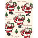 Merry Christmas Santa Wrap by Cavallini