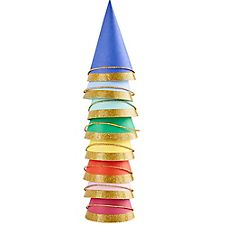 Bright Mini Party Hats