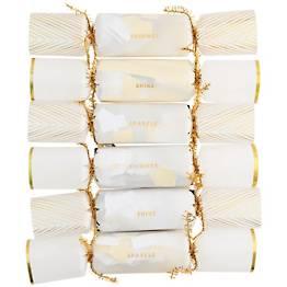 Gold Confetti Crackers