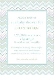 Quilt Baby Shower Invitation