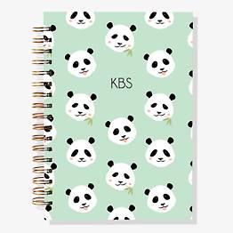 17-Month Pandas Custom Planner