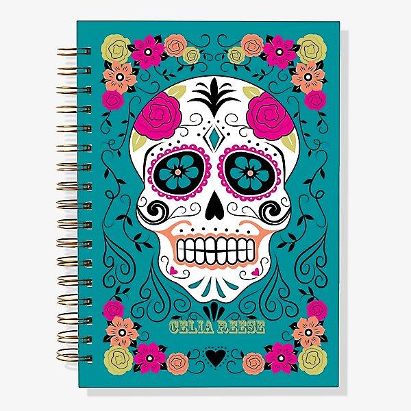 12 Month Sugar Skull Custom Planner 2020 Paper Source