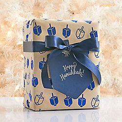 Dreidel Wrapping Paper