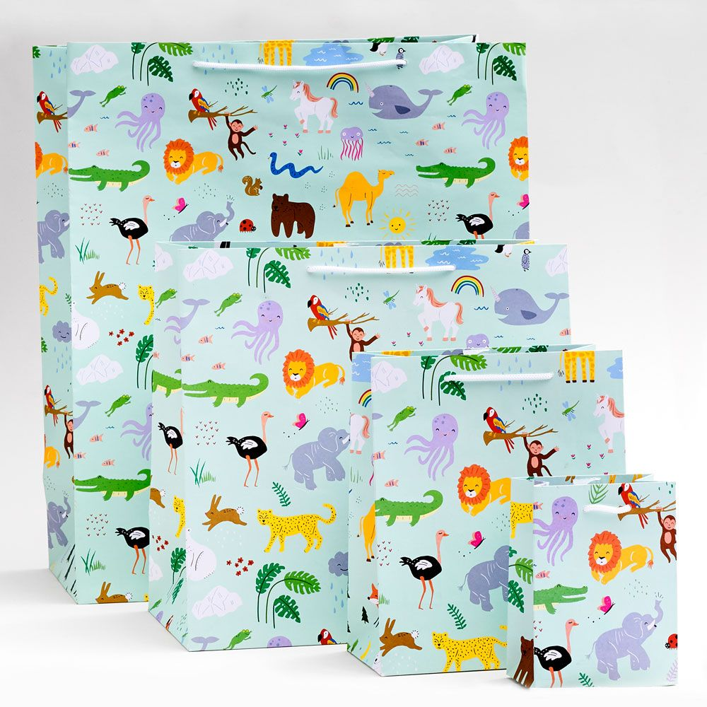 Jungle Animals Gift Bags