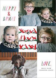 Peace Birds Multi-Photo Card
