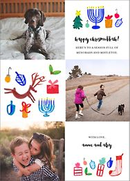 Tis All the Seasons Holiday Photo Card