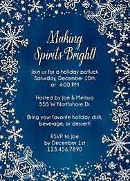 Holiday Party Invitations Paper Source