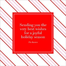 Kate Spade Christmas Cards 2019.Custom Holiday Greeting Cards Paper Source