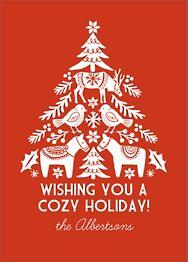 Dala Tree Holiday Card