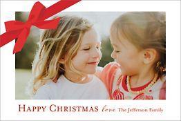 Gift Holiday Postcard