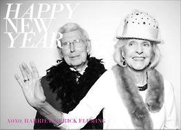 Happy New Year Holiday Photo Card Horizontal