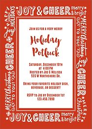 Holiday Messages Invitation