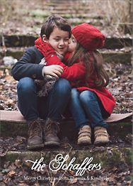 Melany Lane Holiday Photo Card Vertical