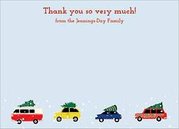 Cars with Trees Stationery