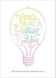 Brilliant New Year Card