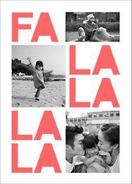 Fa Lalala La Photo Card
