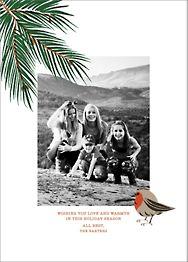Finch and Fir Photo Card
