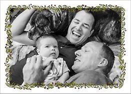 Fir Frame Photo Card
