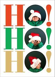 Ho Ho Ho Photo Card