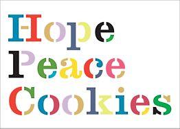 Hope Peace Cookies Card