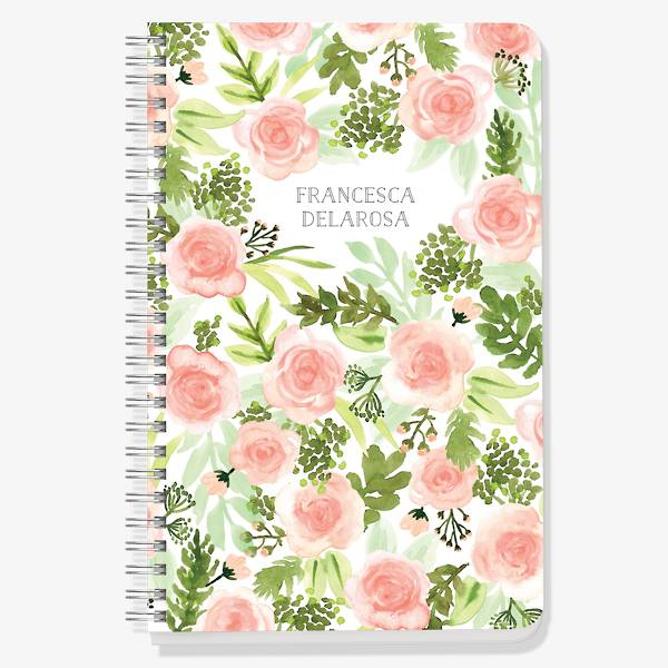 Floral Garden Designed Custom Journal