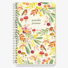 Woodland Birds Custom Journal