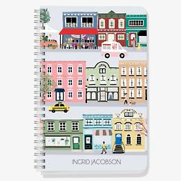 City Scene Custom Journal