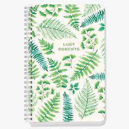 Ferns Custom Journal