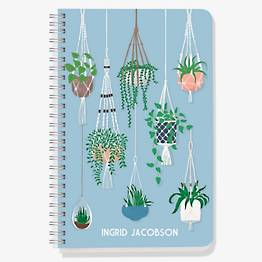 Hanging Plants Custom Journal