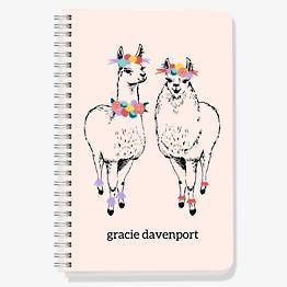 Llama Custom Journal
