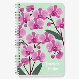 Orchid Custom Journal