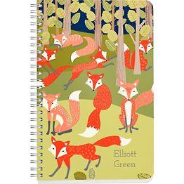Foxes Custom Journal