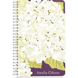 Hydrangea Custom Journal