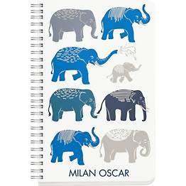 Cool Elephants Custom Journal